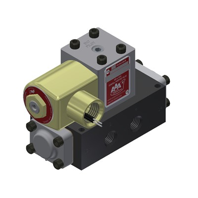 1/4 SINGLE SOLENOID 2 POSITION SPRING R