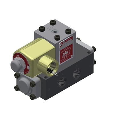 3/8 SINGLE SOLENOID 2 POSITION MANUAL O
