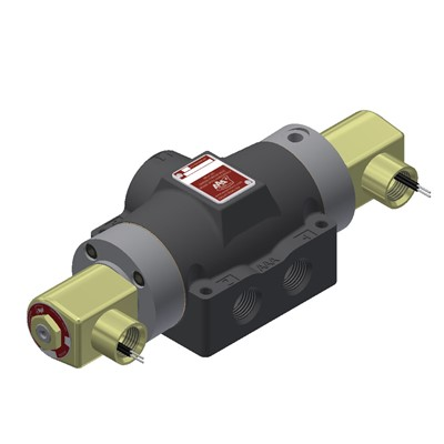 1/2 DOUBLE SOLENOID 2 POSITION